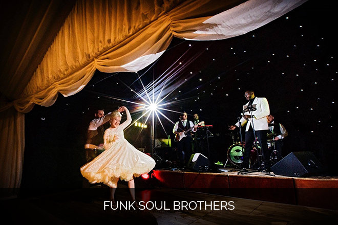 Funk Soul Brothers Wedding and Corporate Band