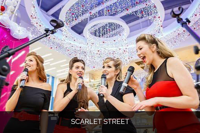 Scarlet Street singing waitresses