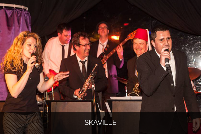 Skaville Ska and reggae band