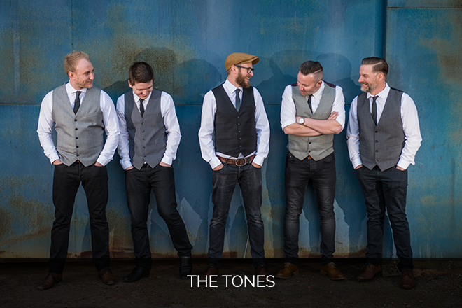 The Tones Rock and indie party band