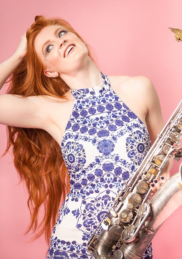Female-Saxophonist
