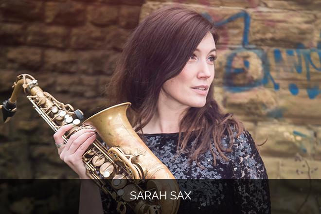 Sarah Sax DJ