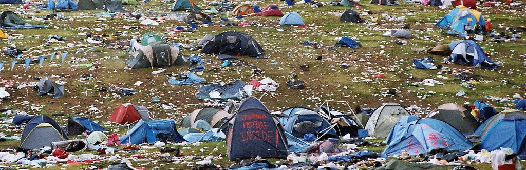 Re-use or Recycle Your Festival Tent?