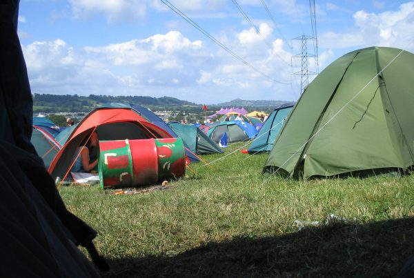 re-use or recycle your festival tent