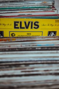 1950's Music Vinyls - Elvis Vinyl